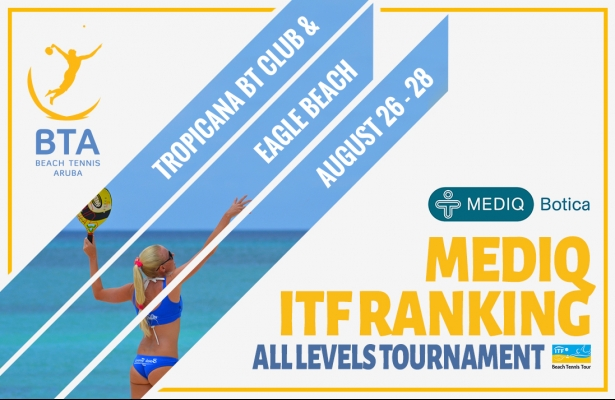 ITF RANKING TOURNAMENT AUGUST 26 - 28.