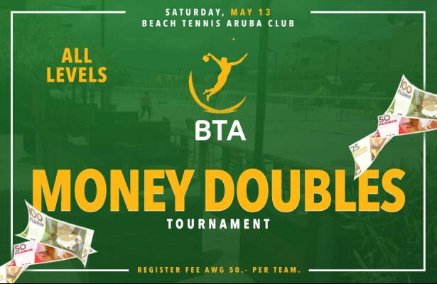MONEY DOUBLES TOURNAMENT SATURDAY MAY 13