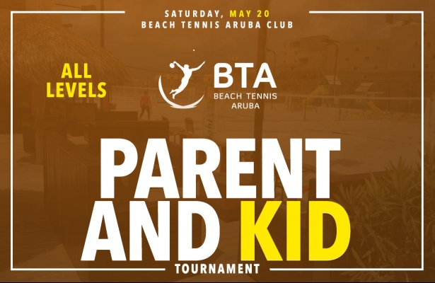 PARENT & KID DOUBLES TOURNAMENT, SATURDAY MAY 20.