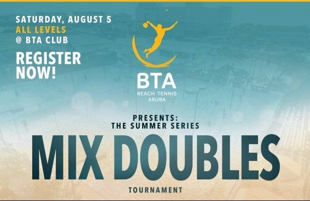 MIX DOUBLES TOURNAMENT SATURDAY AUGUST 5