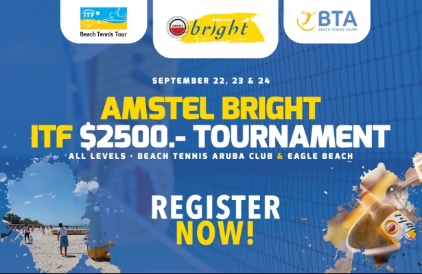 AMSTEL BRIGHT ITF $ 2500-  RANKING TOURNAMENT SEPTEMBER 22 - 24