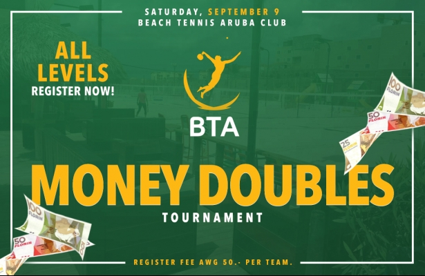 MONEY DOUBLES TOURNAMENT SATURDAY SEPTEMBER 9