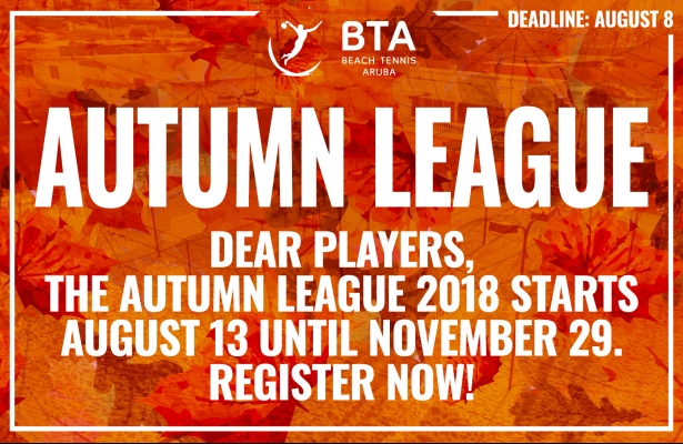 AUTUMN LEAGUE 2018
