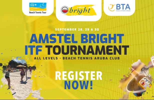 AMSTEL BRIGHT ITF RANKING TOURNAMENT, SEPTEMBER 28-30.