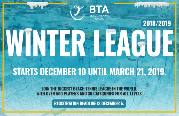 New rule & important information for the BTA Winter league 2018 - 2019.