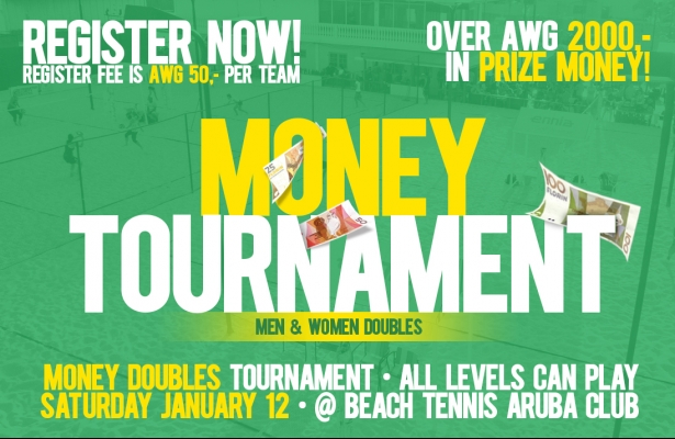 MONEY DOUBLES TOURNAMENT SATURDAY JANUARY 12