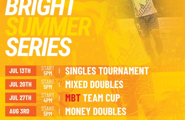 MIXED DOUBLES TOURNAMENT SATURDAY JULY 20